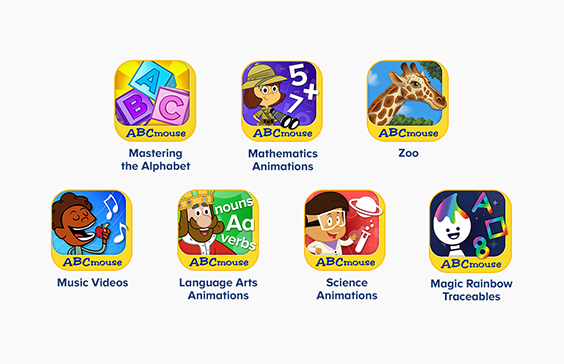 ABCmouse Constellation Apps - Mobile Summer Learning