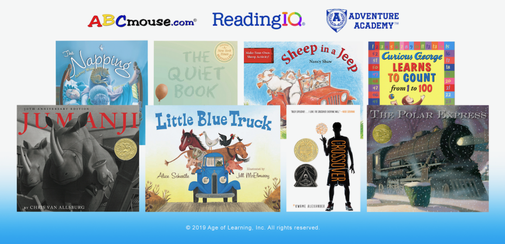 Books from Houghton Mifflin Harcourt Publishing Now Available in ReadingIQ, ABCmouse, Adventure Academy